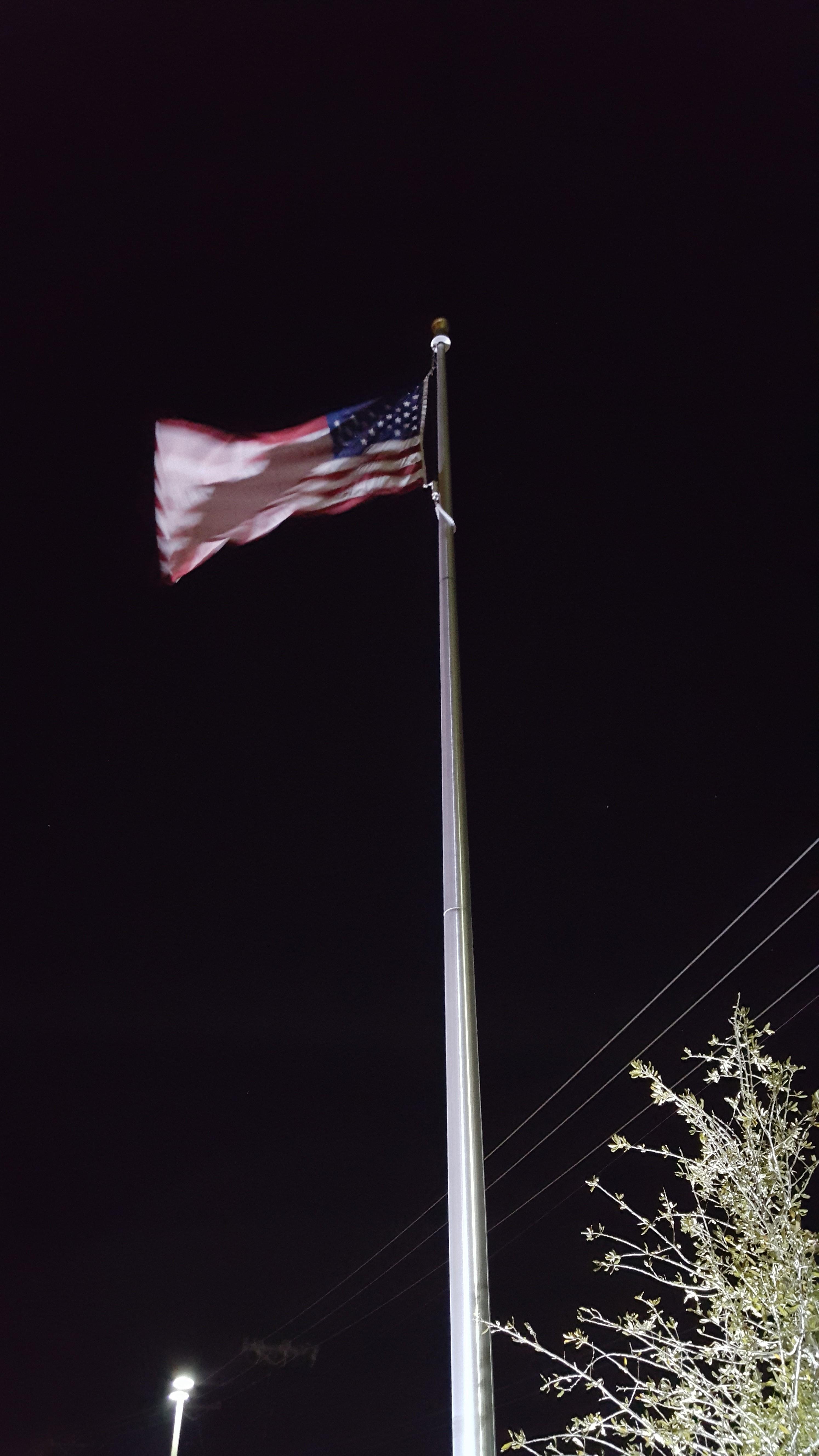 240 Watt Led Flagpole Light Flag