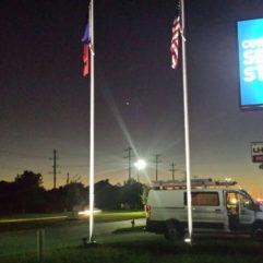 Flagpole Lights