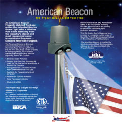 Beacon Lights | Flagpole Down Lights
