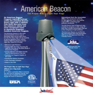 Beacon Lights | Flagpole Down Lights