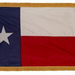 Indoor Texas Flags