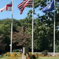 Fiberglass Flagpoles   External Halyard