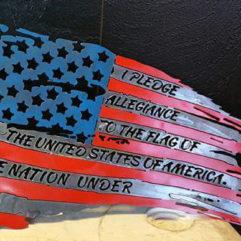 Metal Flags
