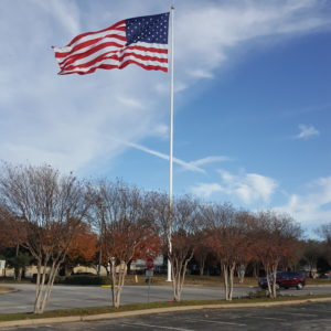 100'-150' Monumental Flagpoles | Nationwide Flagpole Installation